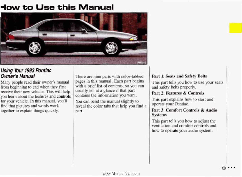02 2002 pontiac bonneville owners manual | ebay.