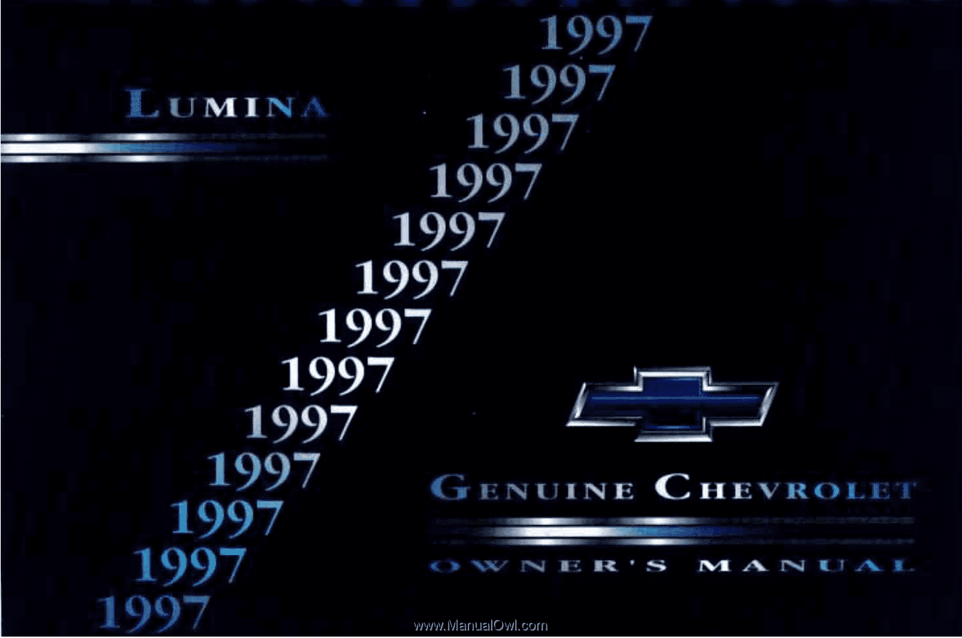 All Chevy 1997 chevy lumina owners manual : 1997 Chevrolet Lumina   Owner's Manual