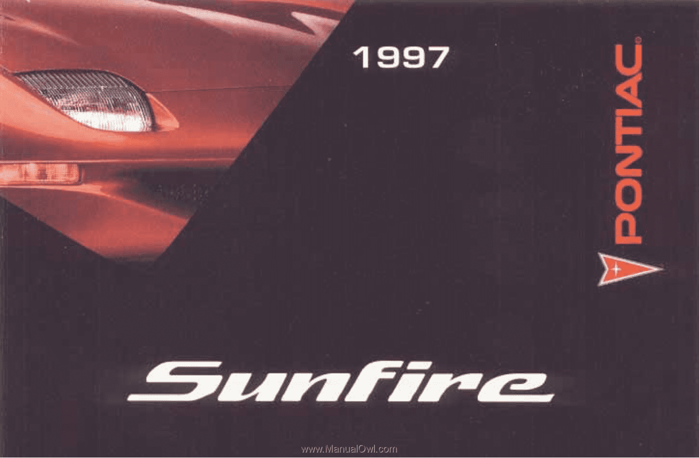 The. 1997. Pontiac. Sunfire. Owner's. Manual