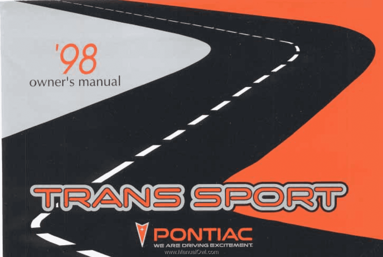 The. 1998. Pontiac. Trans. Sport. Owner's. Manual