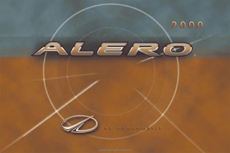 2000 Oldsmobile Alero Repair Manual Free Open Source User Engine Diagram Owner S Rh Manualowl Com Reported Problems