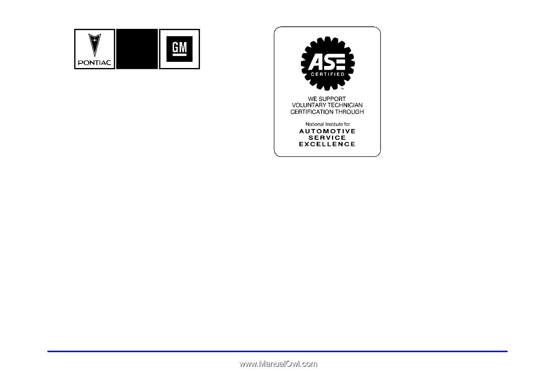 2001 Pontiac Aztek Belt Diagram