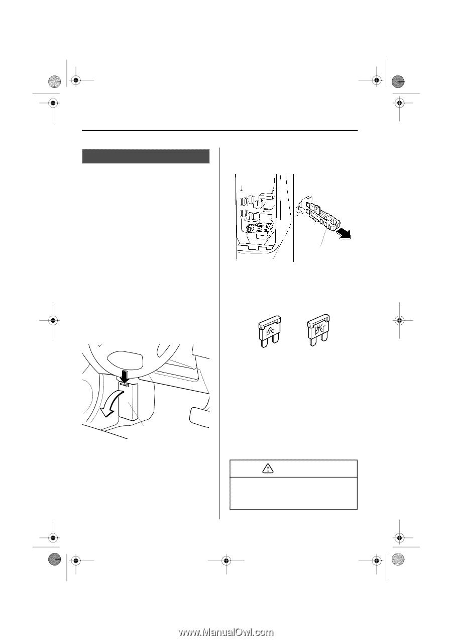 2003 mazda protege5 owner 39 s manual page 235. Black Bedroom Furniture Sets. Home Design Ideas