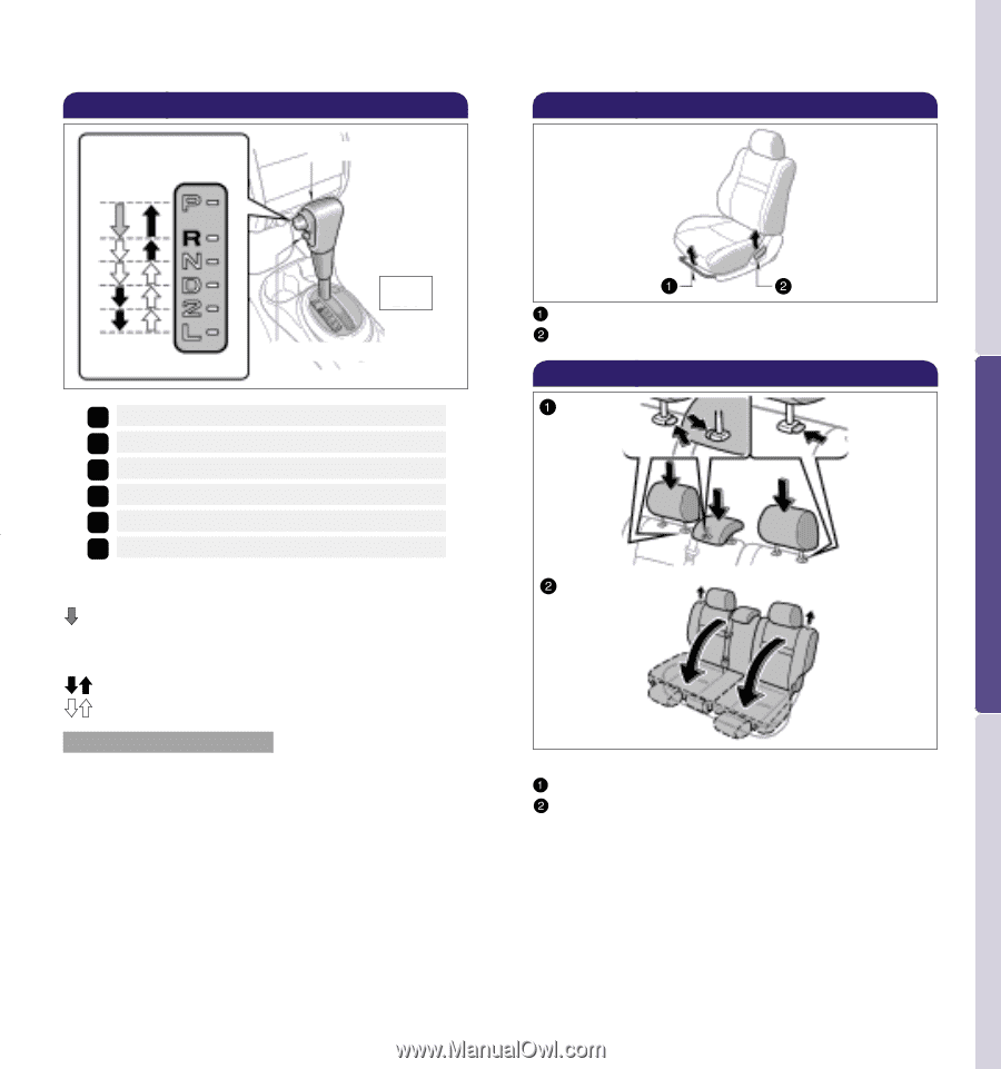 To fold rear seats