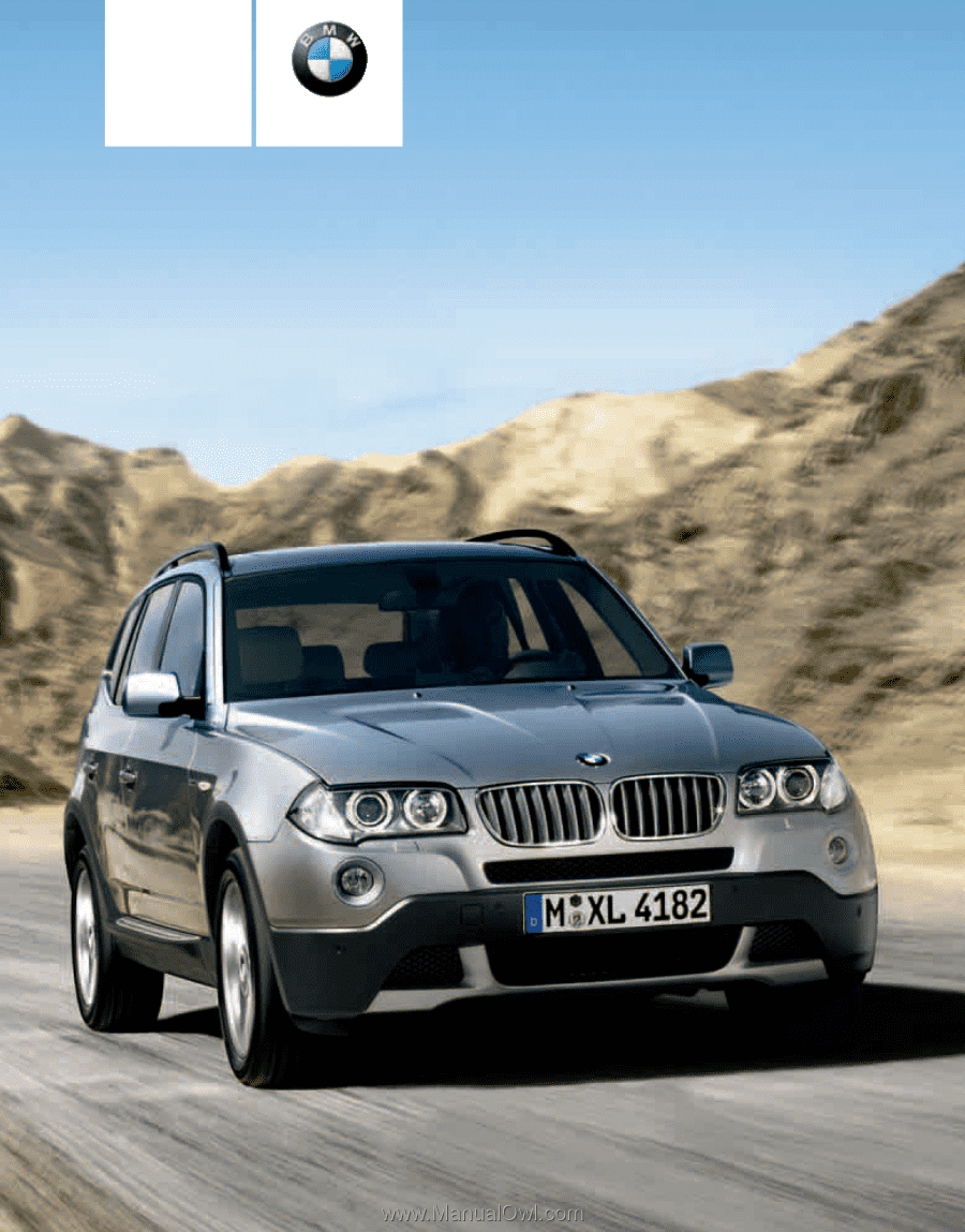 2008 bmw x3 owner s manual