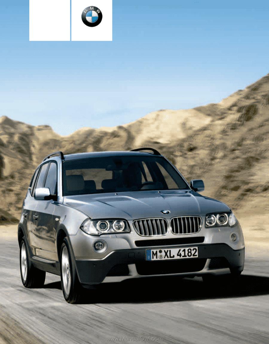 2010 bmw x3 owner s manual rh manualowl com 2008 BMW X3 2008 BMW X3