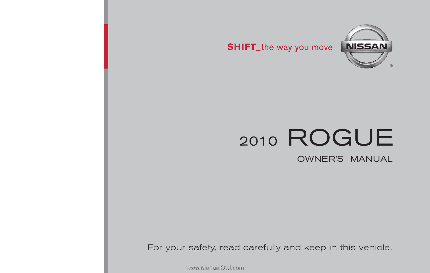 Nissan Rogue Owners Manual: Rear window wiper and washer switch