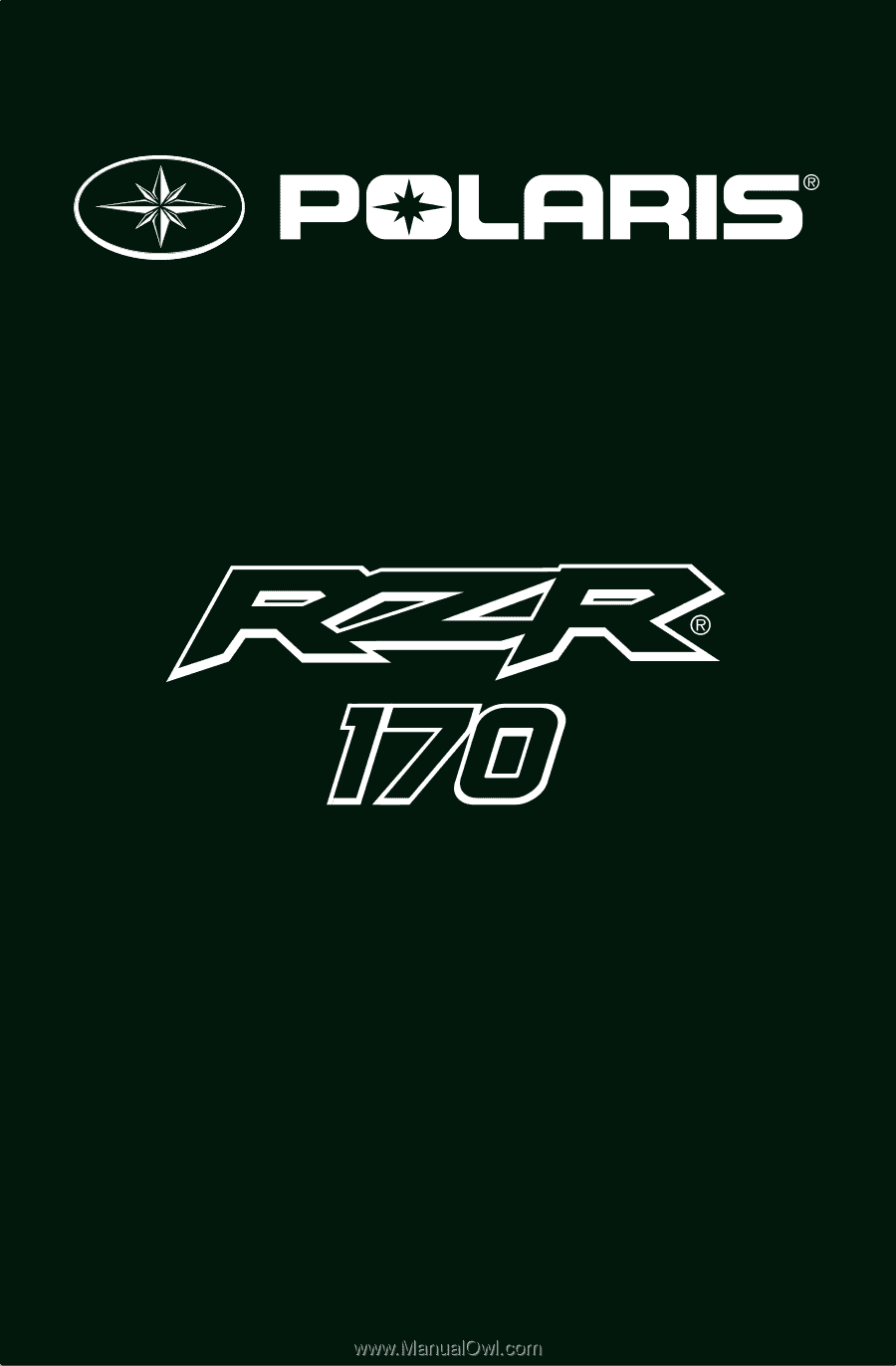 2015 Polaris Rzr 170 Owners Manual 2014 Wiring Diagram Ow Ners