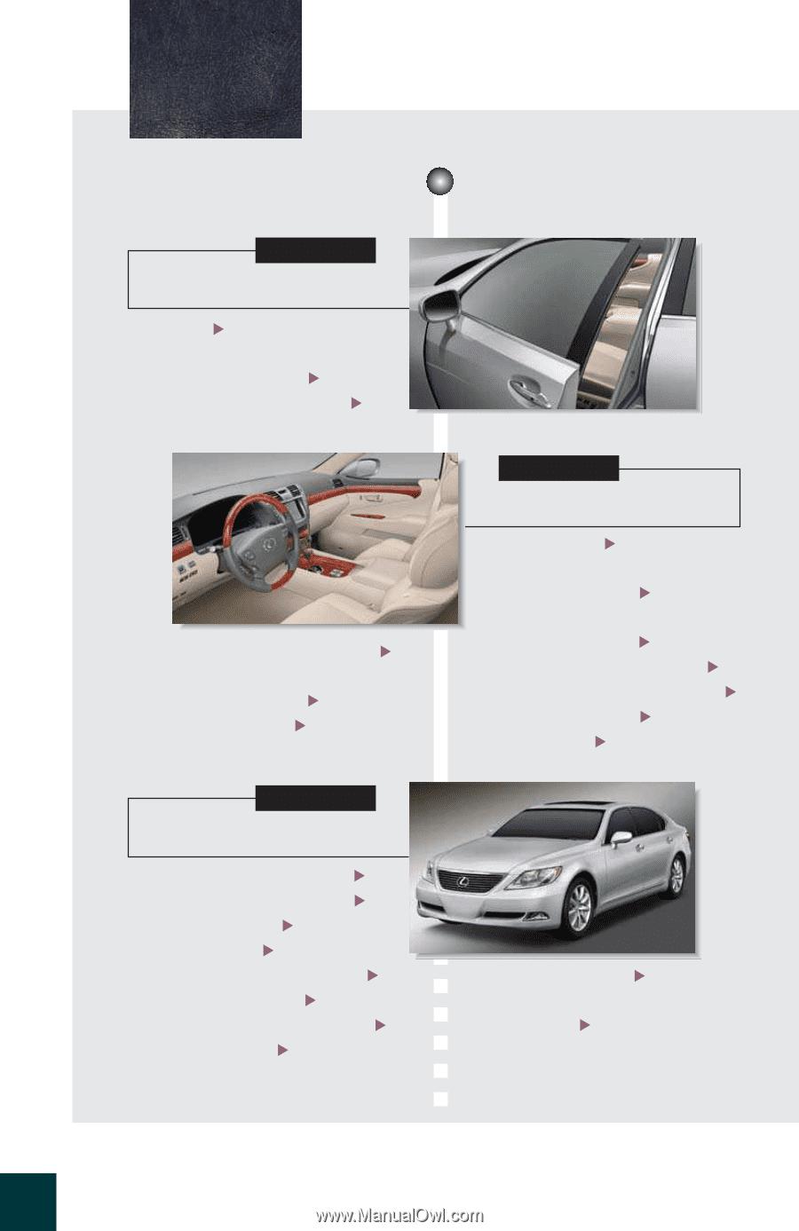 2011 Lexus LS 460 L LS 460 Wiring Diagrams Schematics Layout Factory OEM