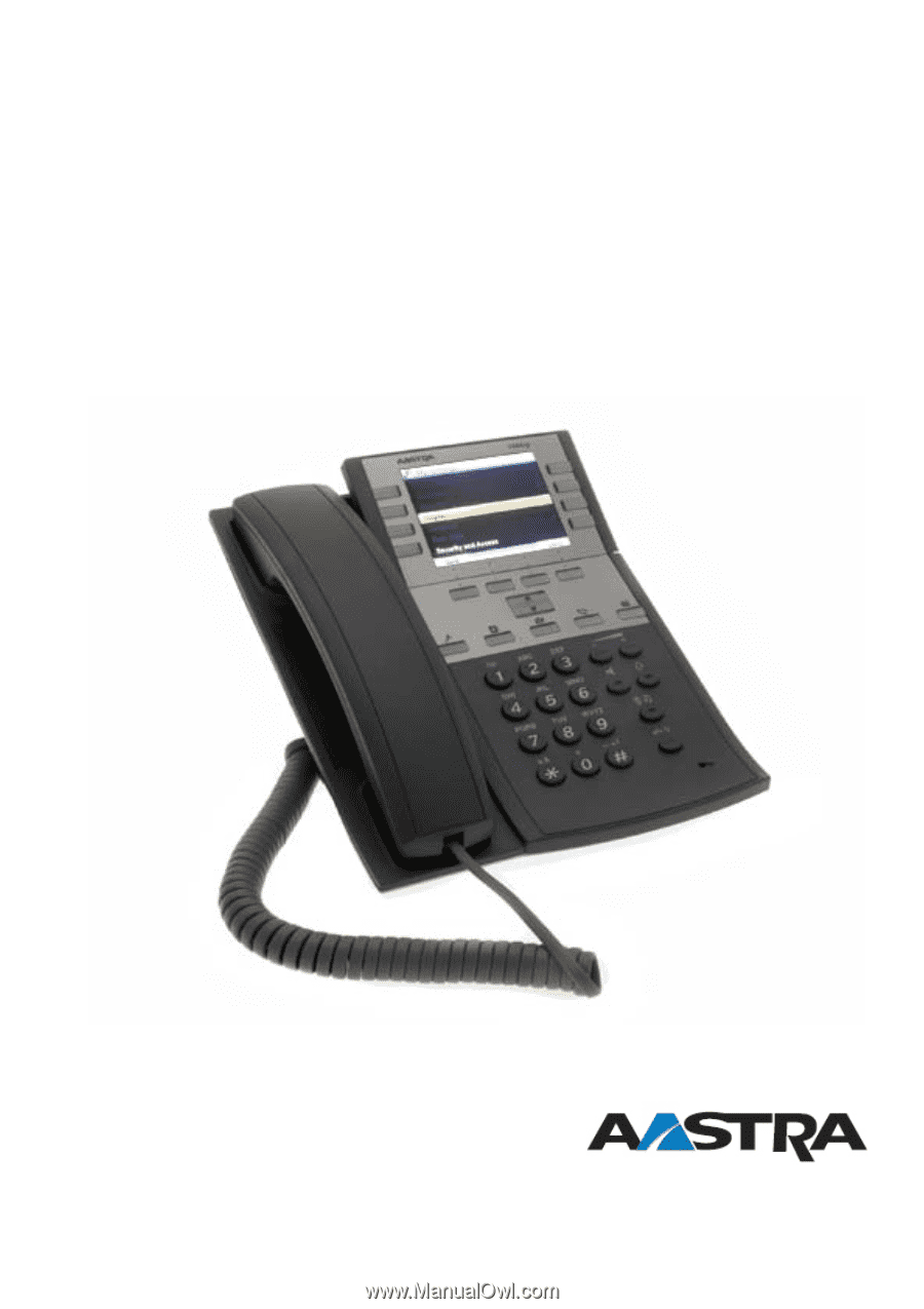 Aastra Telephone Manual