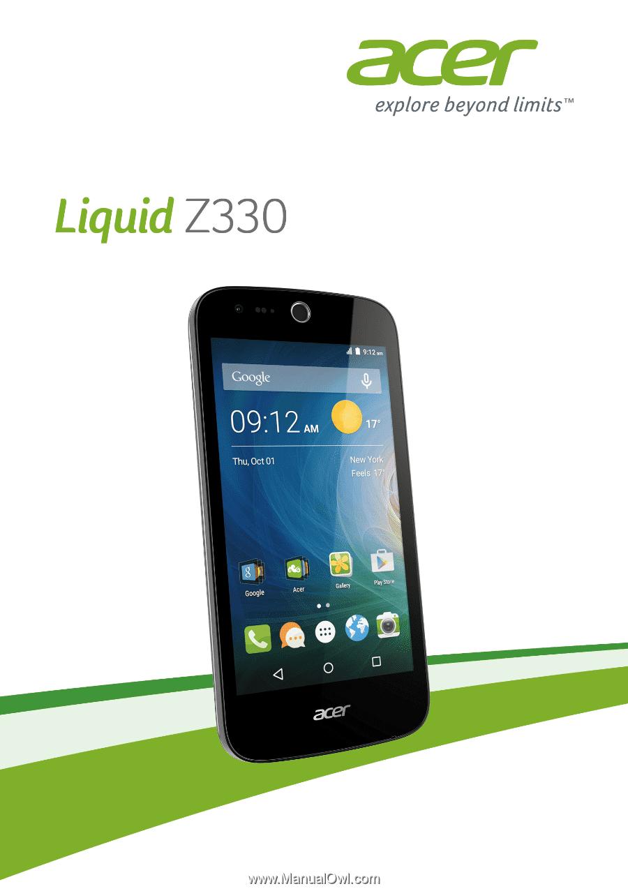 смартфон acer liquid z330 инструкция по применению