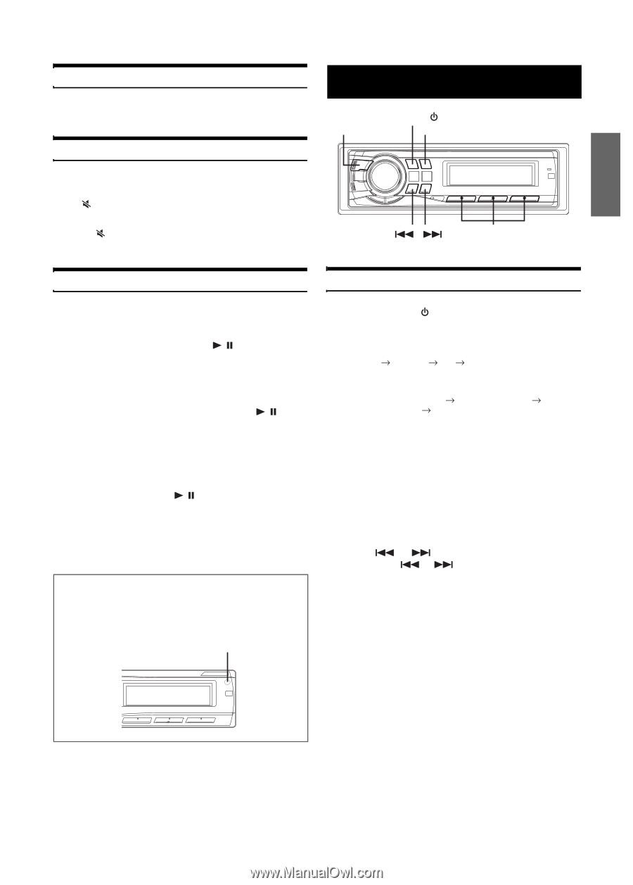 Alpine CDE-9881 | Owners Manual - Page 8