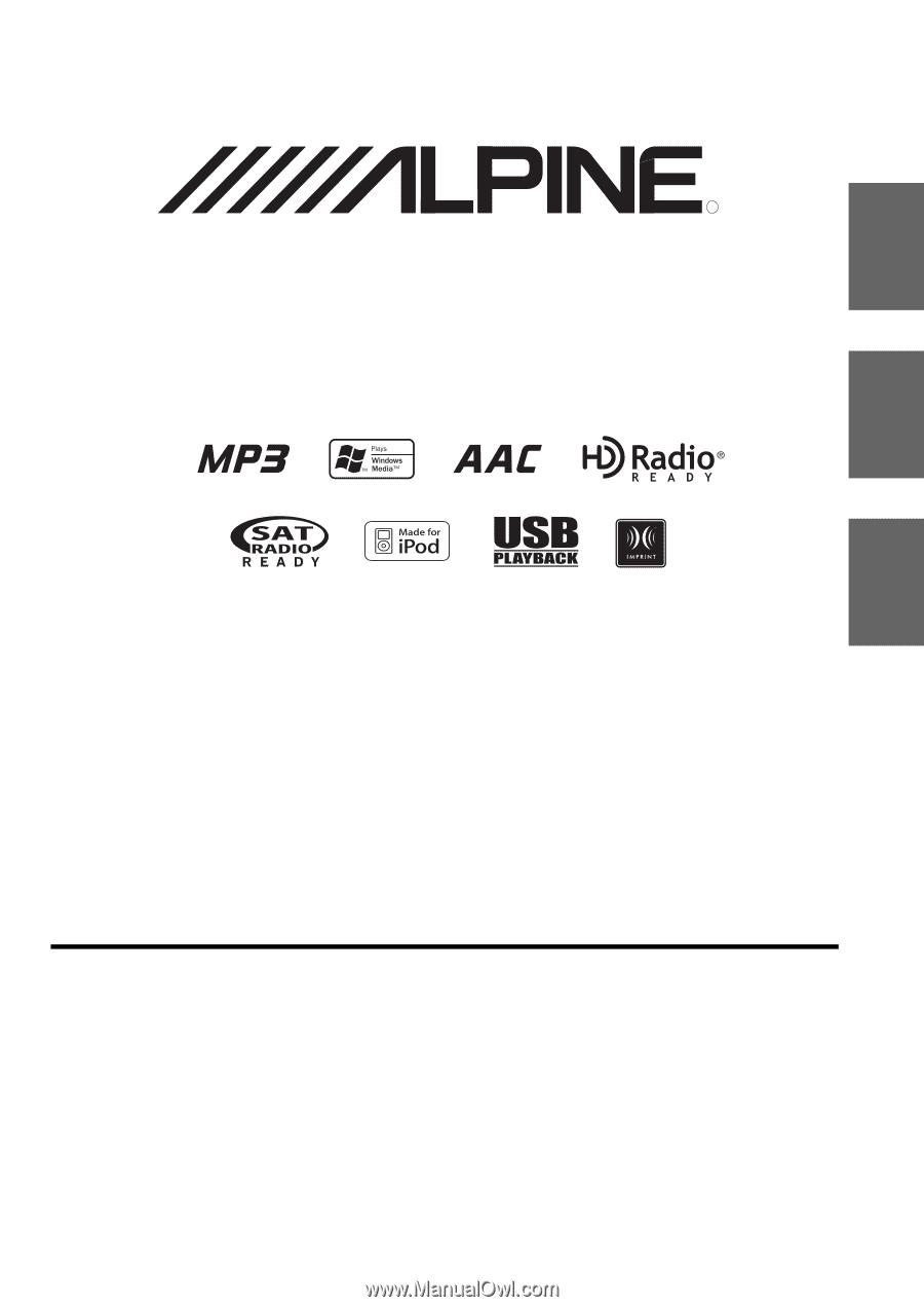 Designed by ALPINE Japan