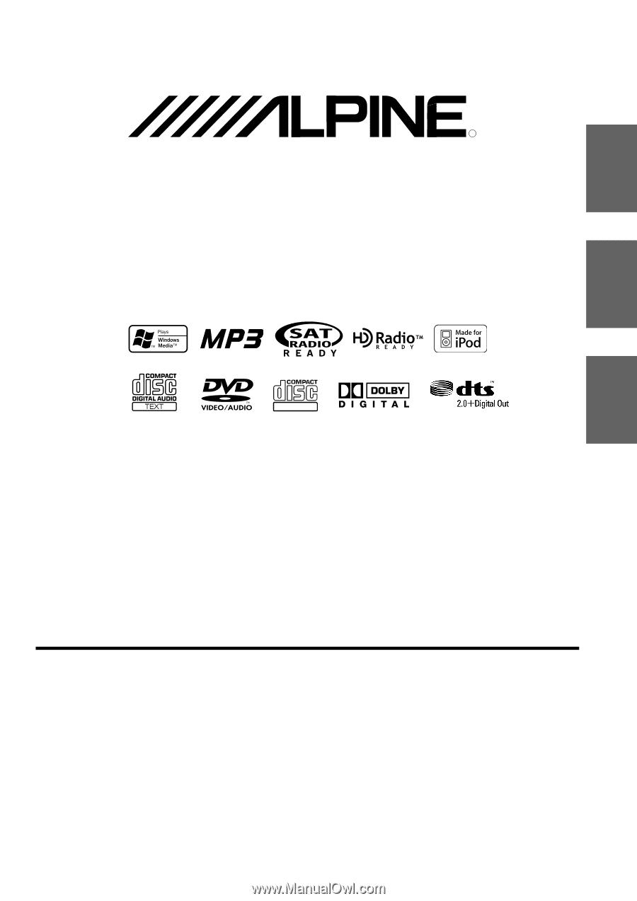 Alpine IVA W205 | Owners Manual