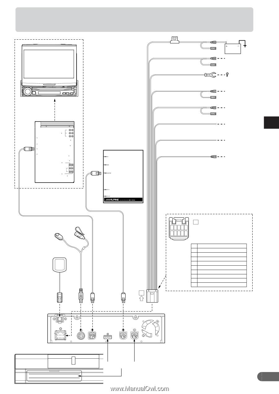 Alpine N872a Installation Guide Cva 1005 Wiring Diagram 9