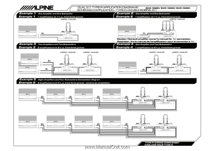 Alpine Swr 1042d Wiring Diagram