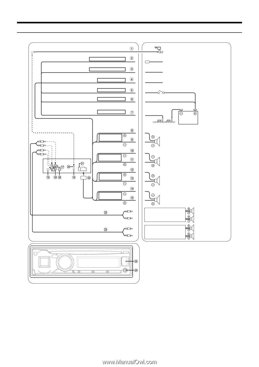 alpine cde 143bt page 44  alpine cde 143bt wiring diagram #41