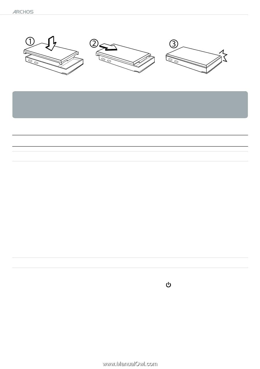 Archos 604 digital av player manuals.