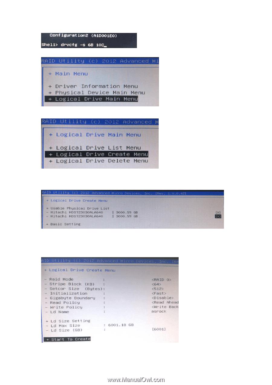 ASRock FM2A68M-HD | RAID Installation Guide