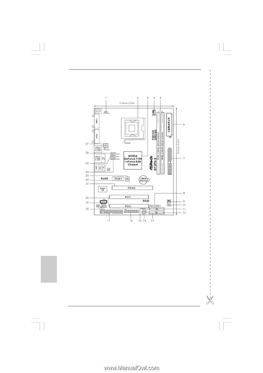 Asrock N73PV-S NVIDIA all in 1 64x