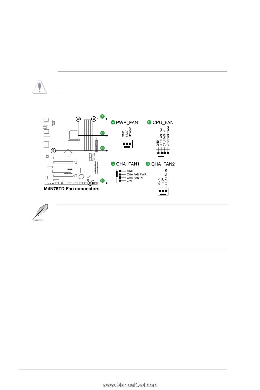 asus m4n75td manual pdf