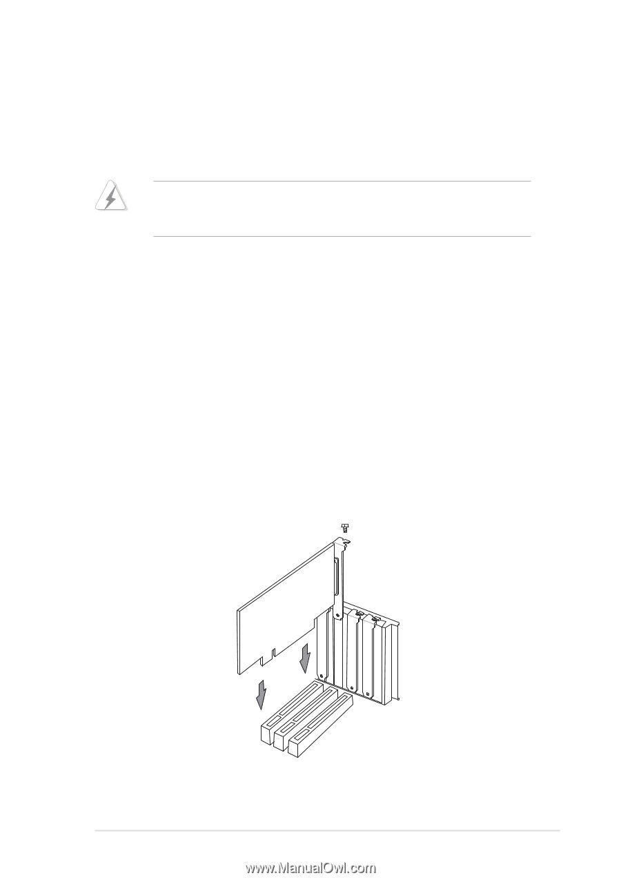 asus p4b manual