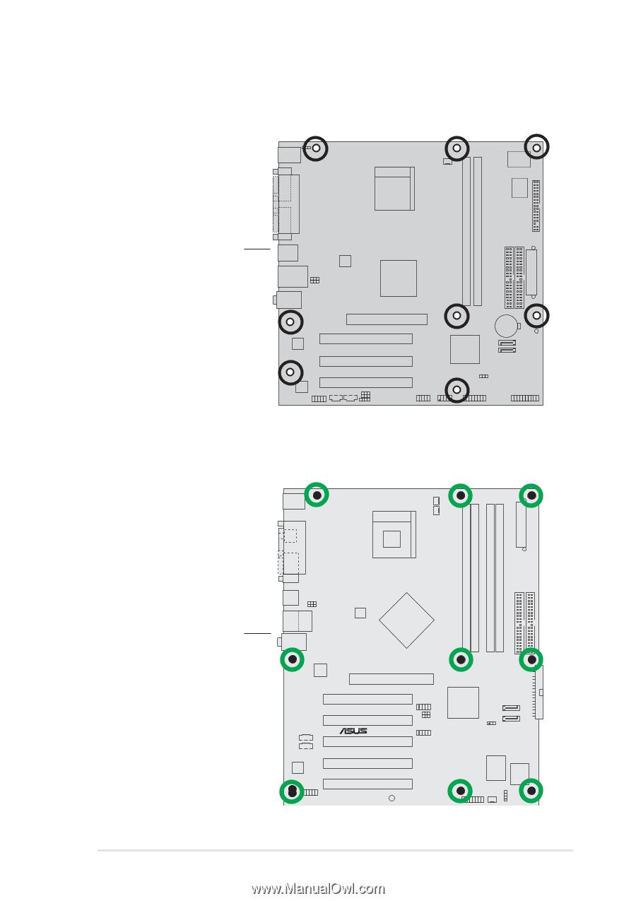 Asus p4s8x-mx схема подключения