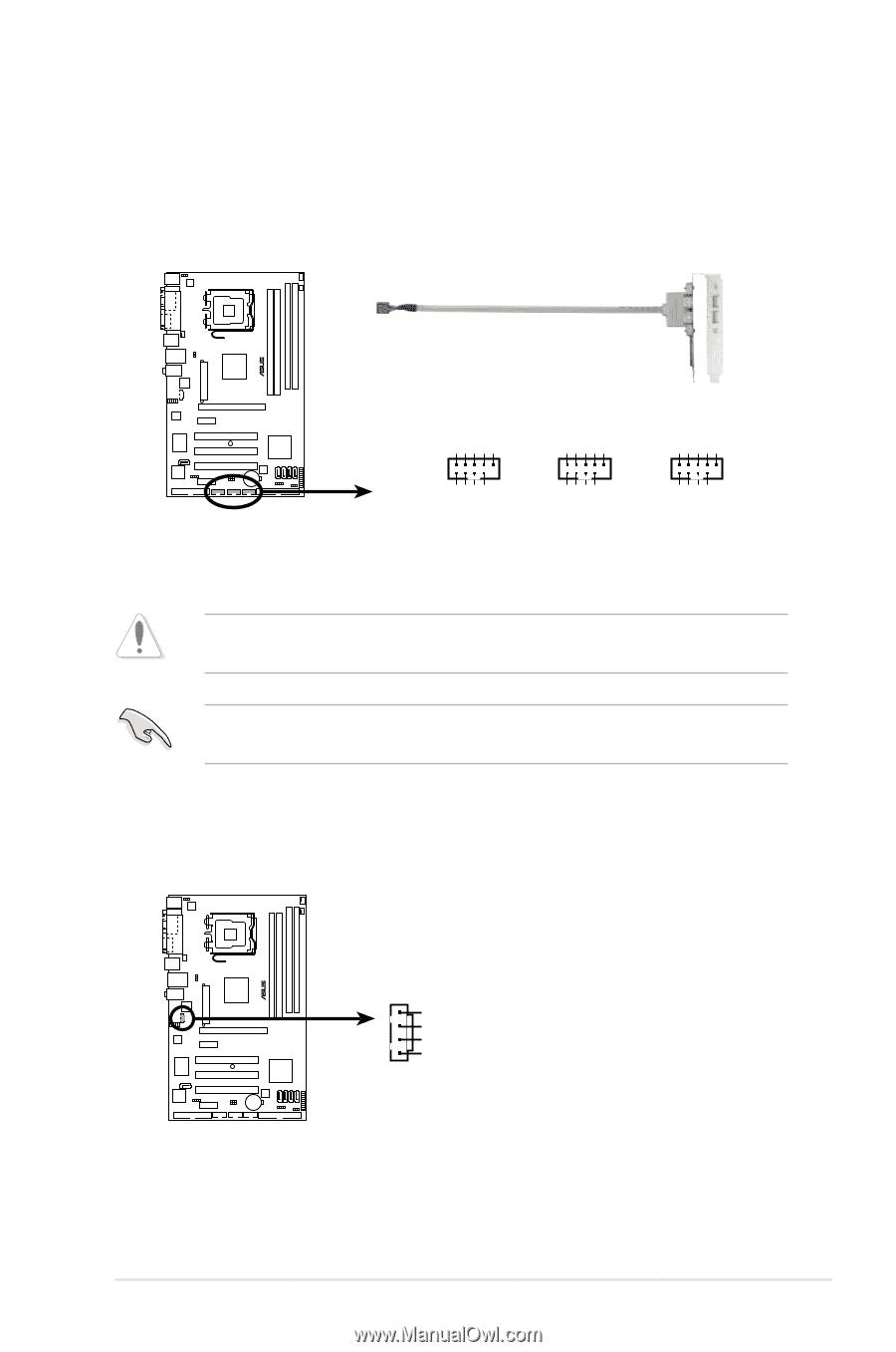 asus manual p5b