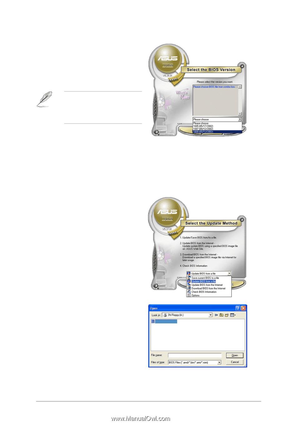 asus p5k manual download