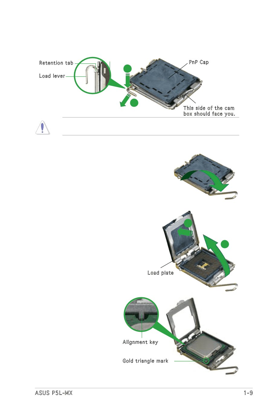 Asus P5L MX | Motherboard Installation Guide - Page 20