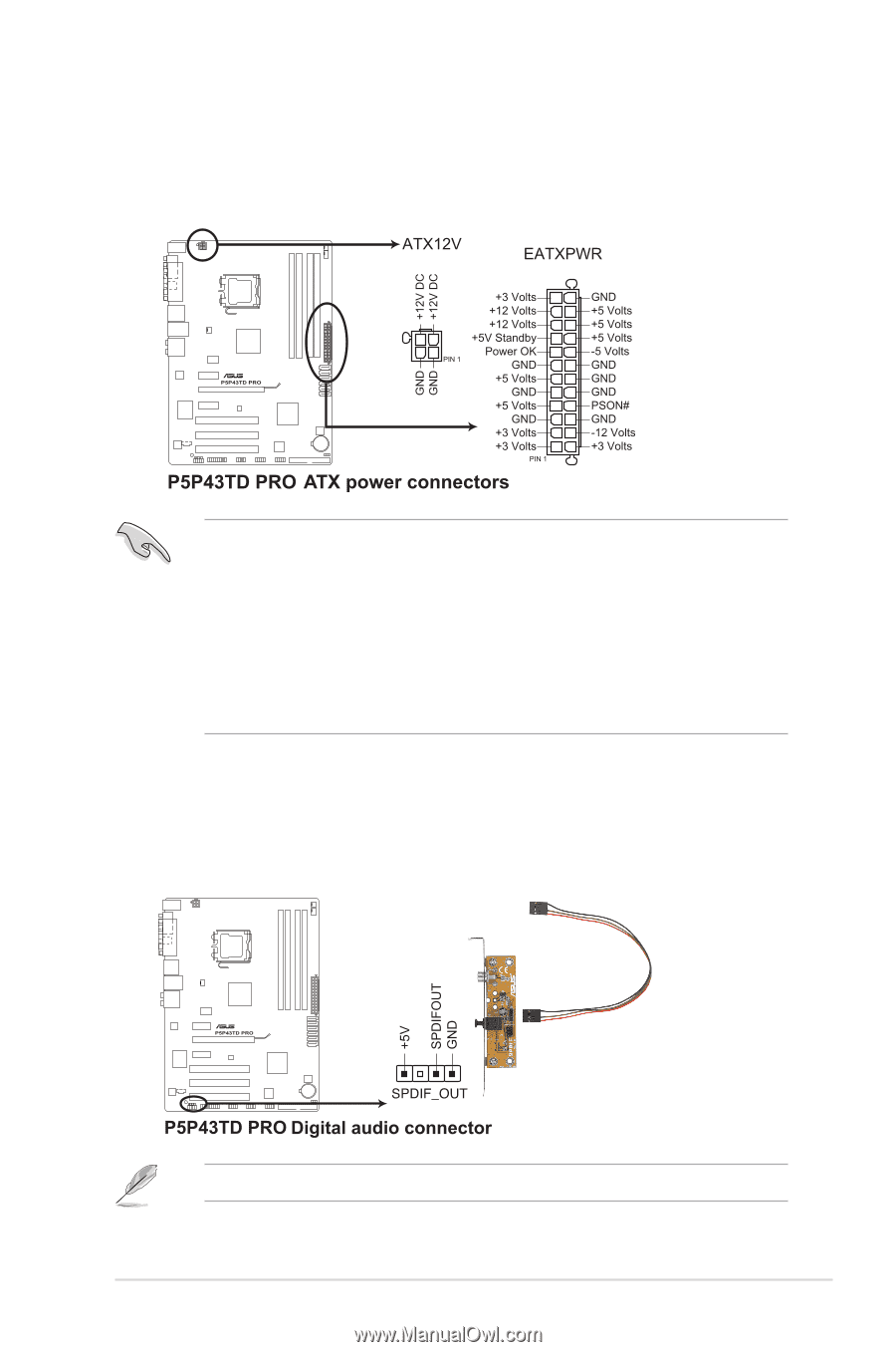 Asus P5P43TD PRO | User Manual - Page 37