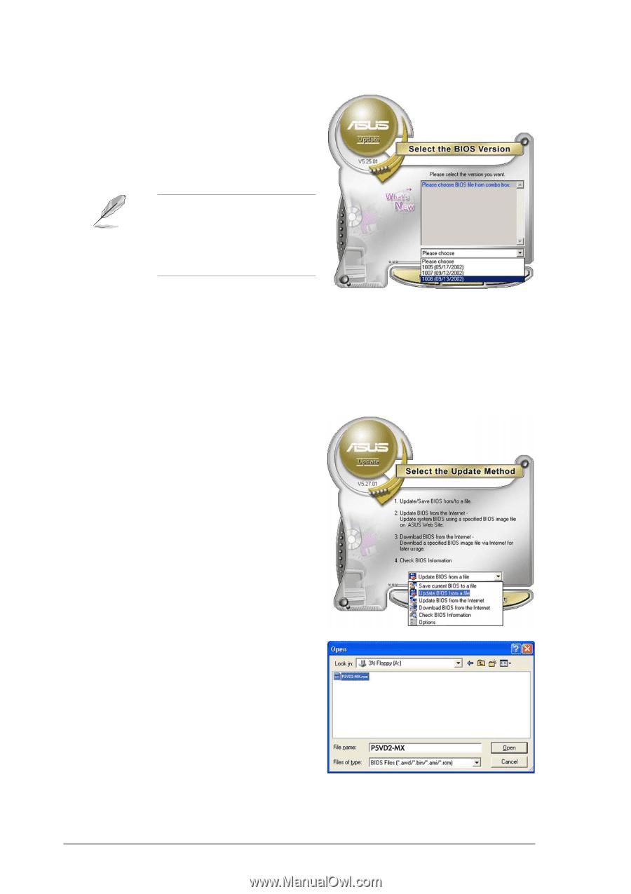 Asus P5VD2 MX | P5VD2-MX/P5V-VM DH English Edition User's