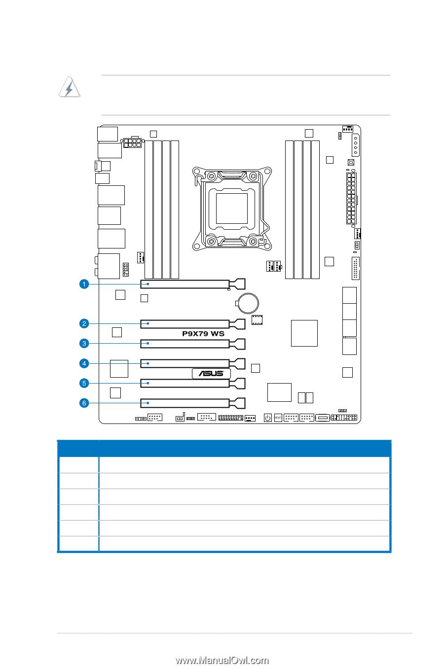 Asus P9X79 WS | User Manual - Page 42