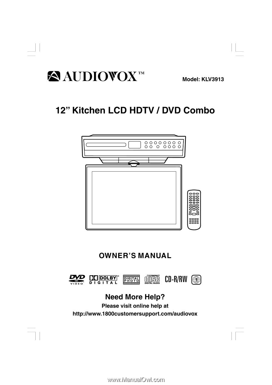 audiovox klv3913 owners manual page 8 rh manualowl com Audiovox TV Fpe1907dv Audiovox TV Fpe1907dv Input