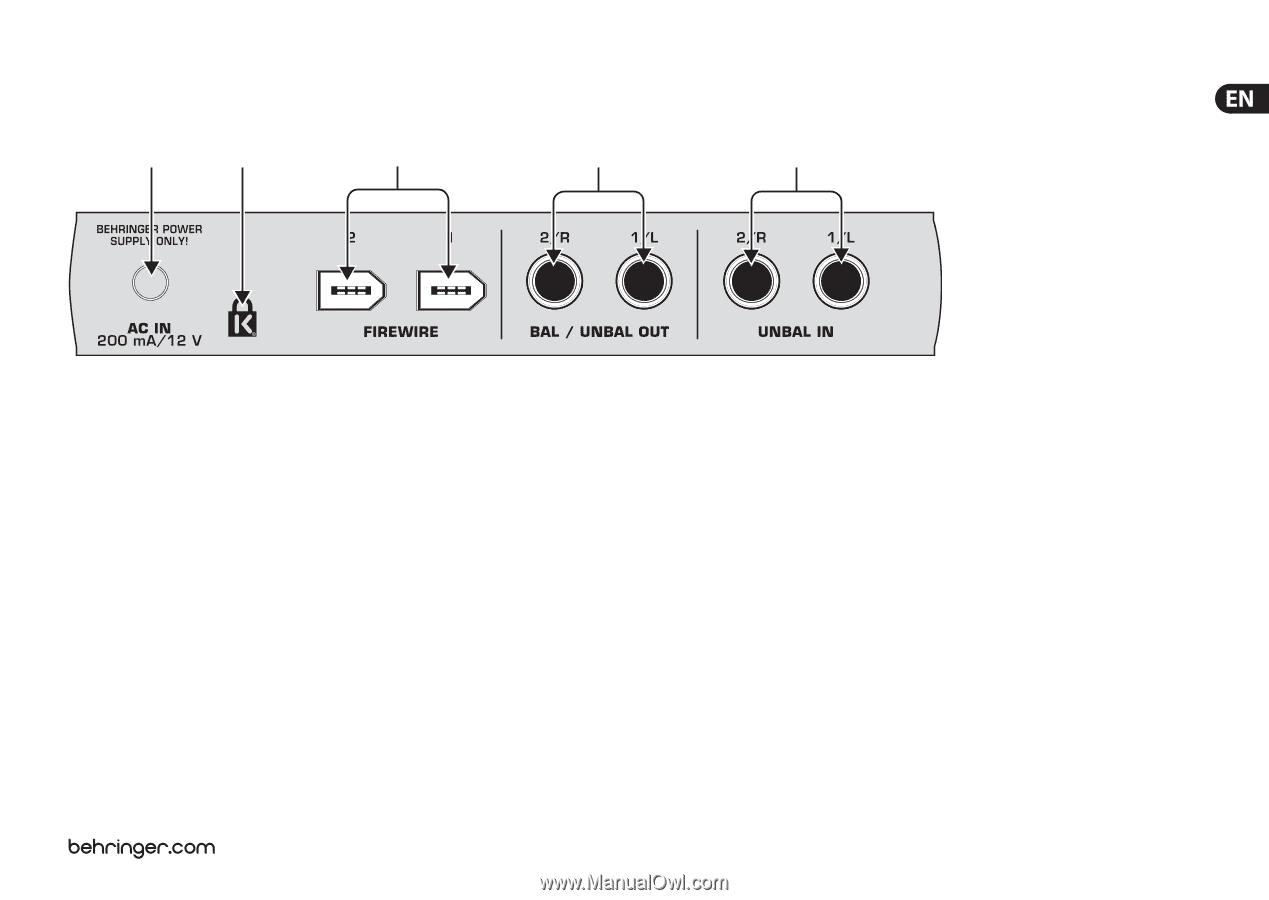 Behringer F-CONTROL AUDIO FCA202 | Manual - Page 17