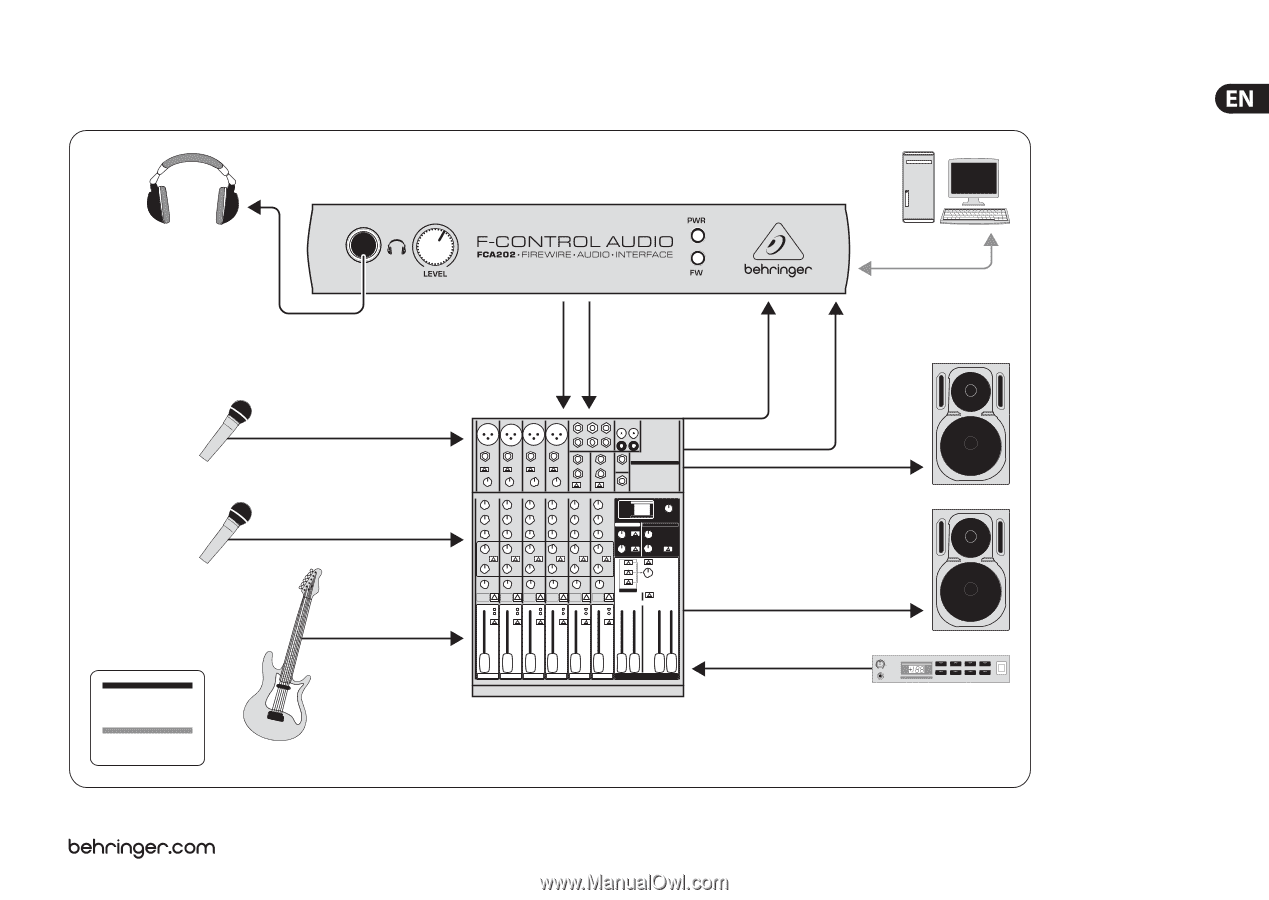 Behringer F-CONTROL AUDIO FCA202 | Manual - Page 19