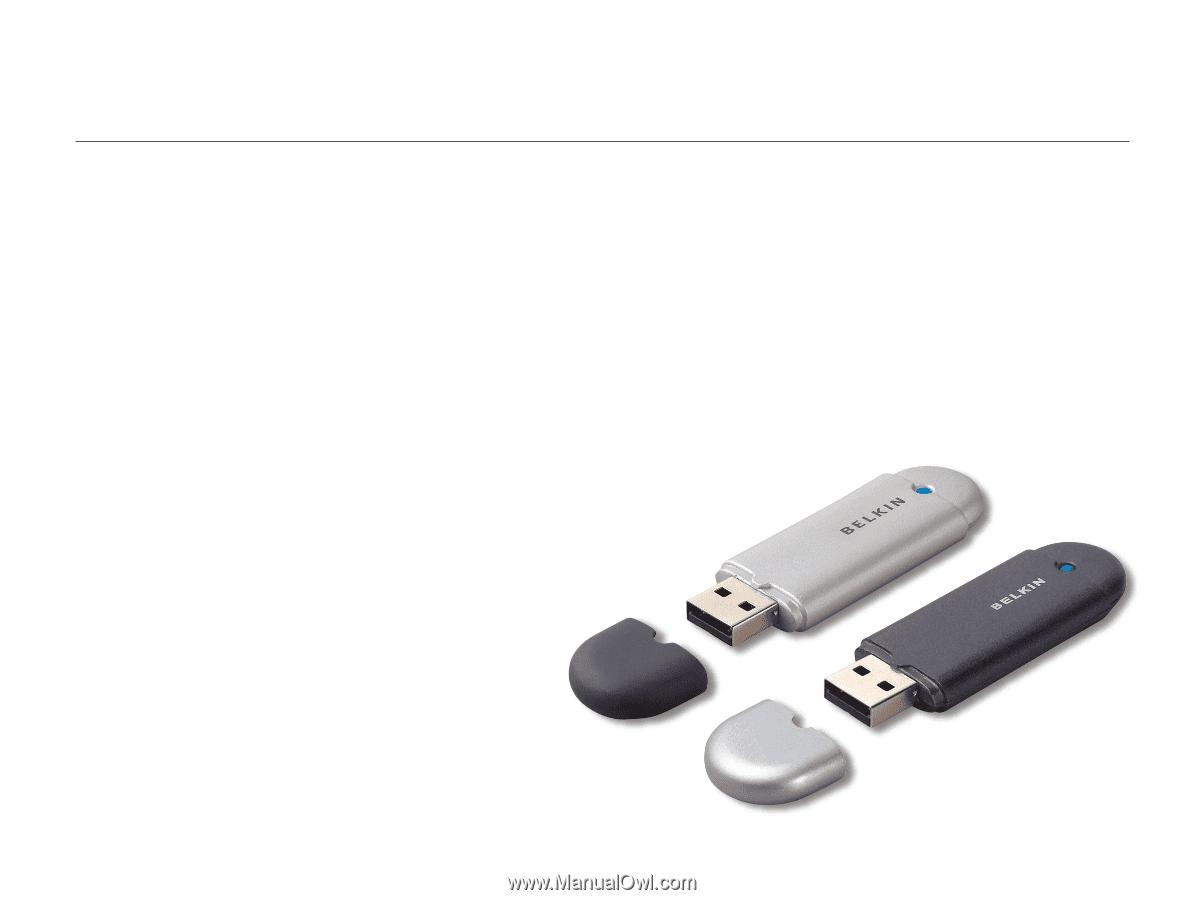 BELKIN USB ADAPTER F8T013XX1 DRIVER FOR PC