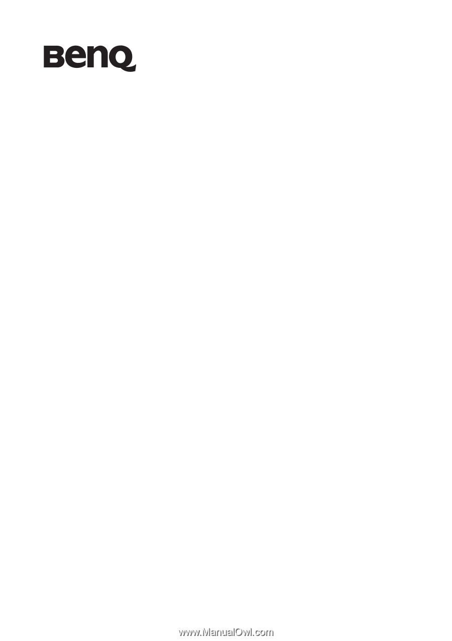 BENQ EW2730 (ANALOG) DESCARGAR CONTROLADOR
