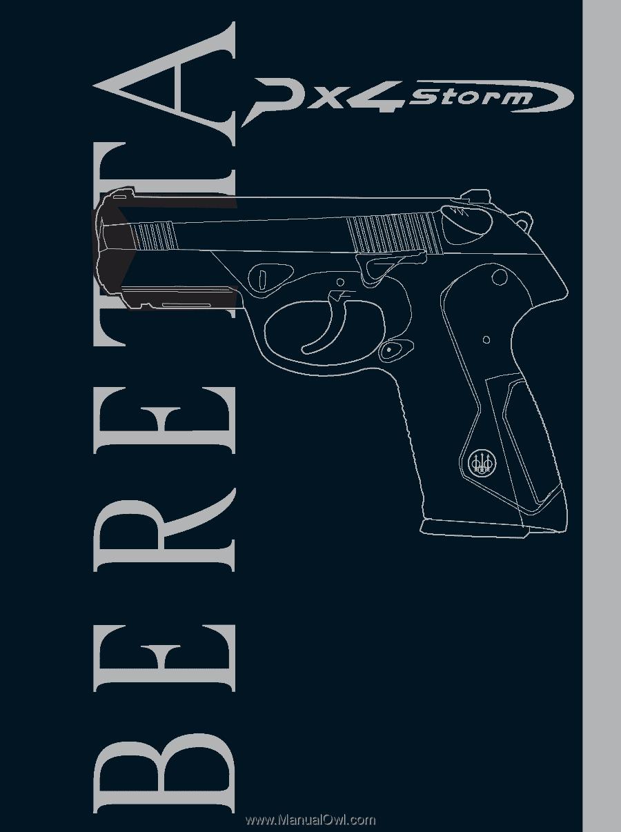 Beretta Px4 Storm pdf Manual