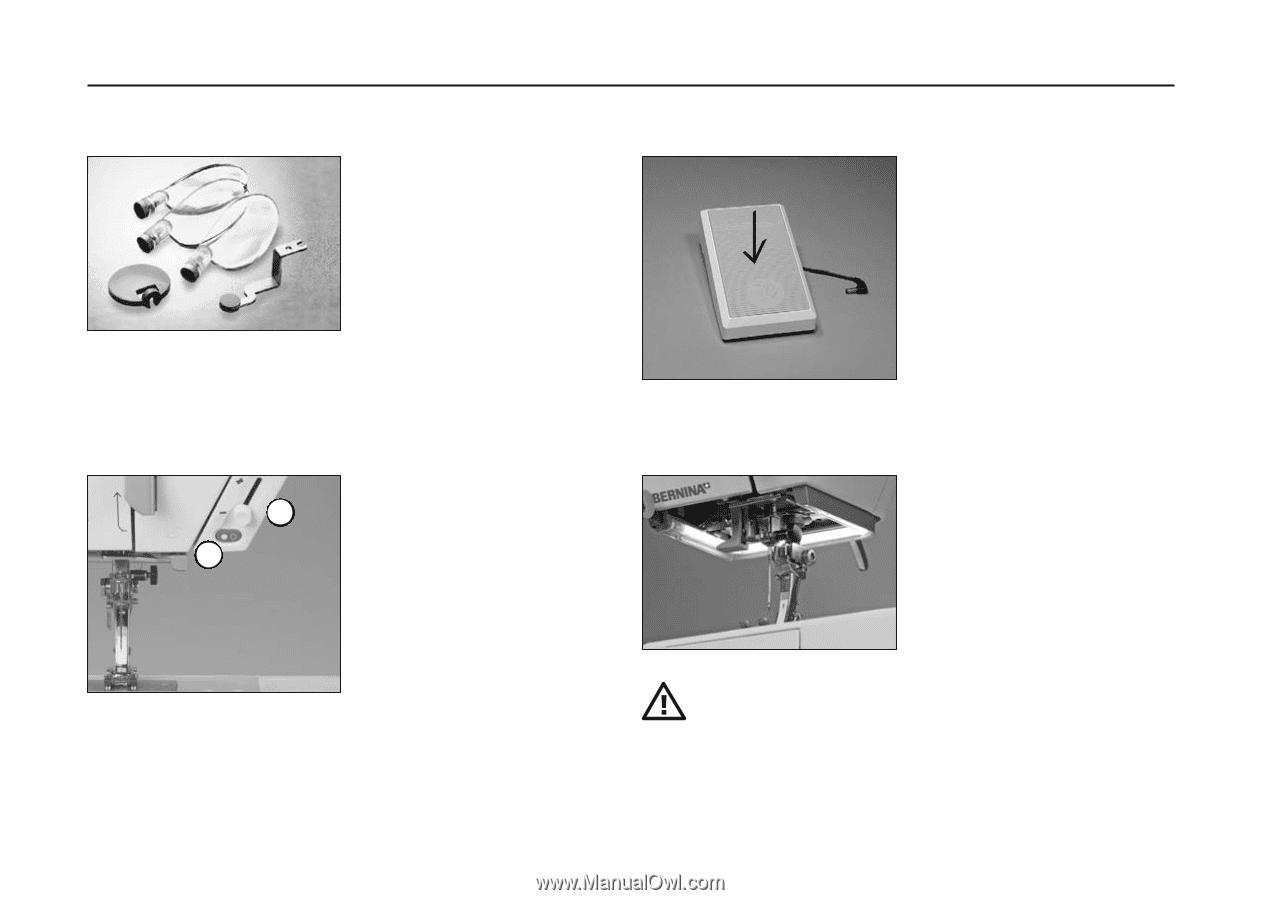 Bernina Activa 210   User Guide - Page 9