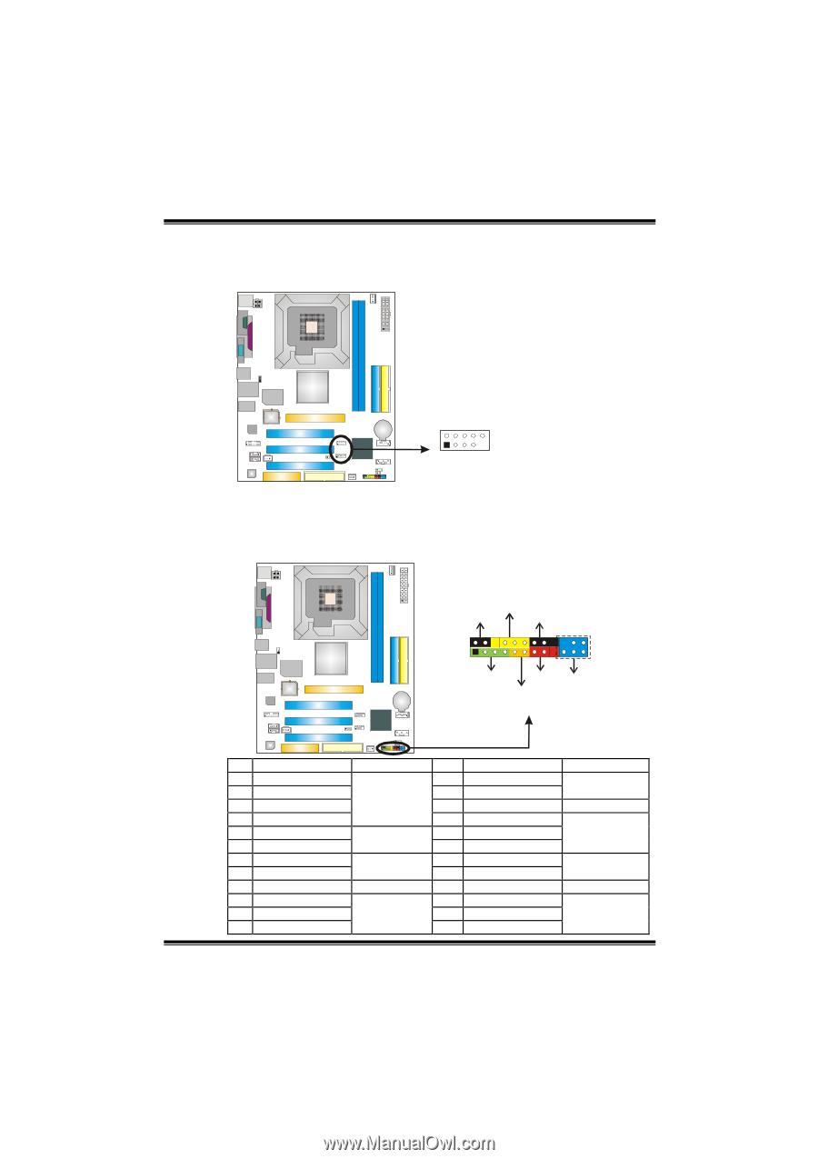 Biostar p4m80 pro-m7 | the p4m800 pro-m7 manual page 16.