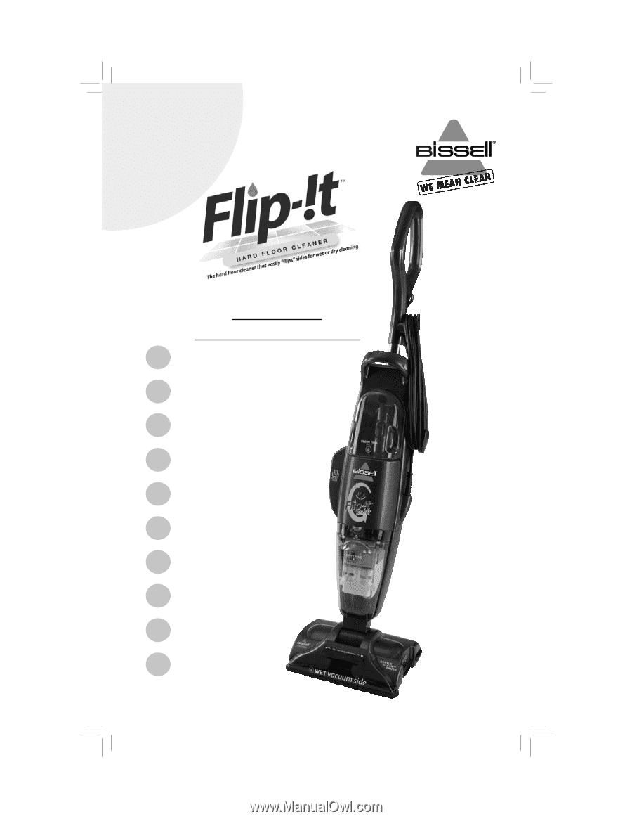Bissell Flip T Select Hard Floor Cleaner User Guide