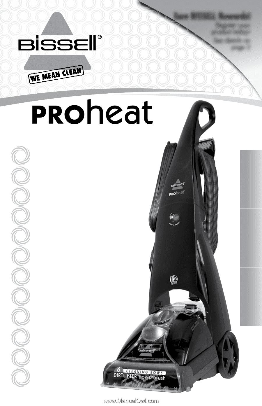 bissell proheat 12 amp manual pdf