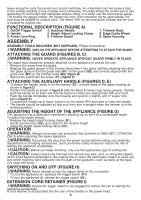 Black & Decker GH3000 | Type 1 Manual - GH3000