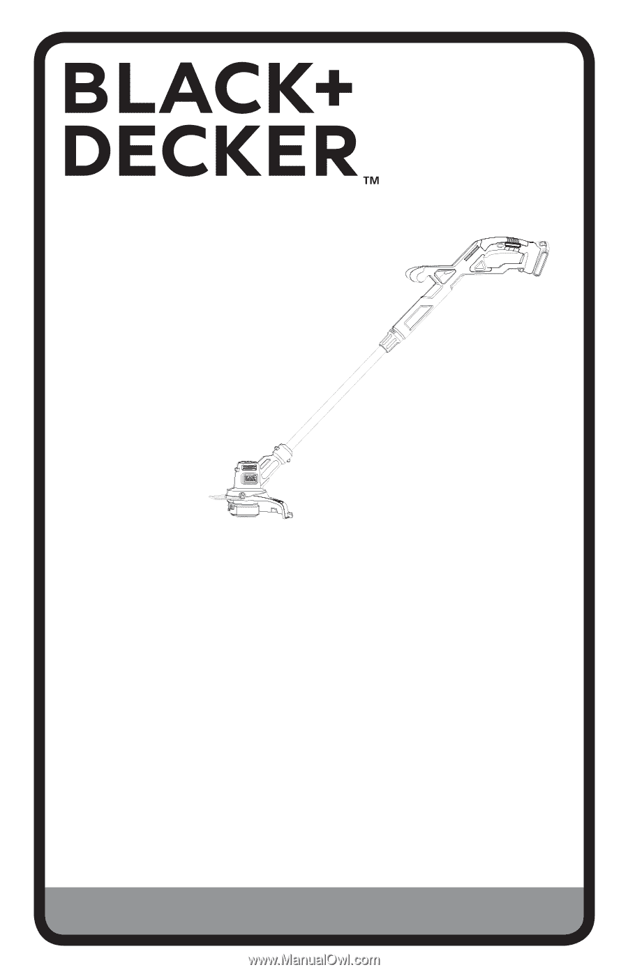 Black Decker Lst201 Instruction Manual Page 1