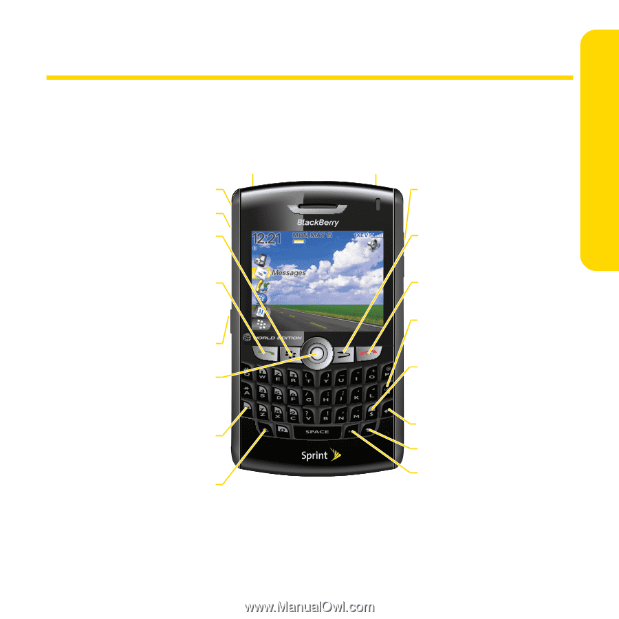Getting to Know Your BlackBerry® 8830