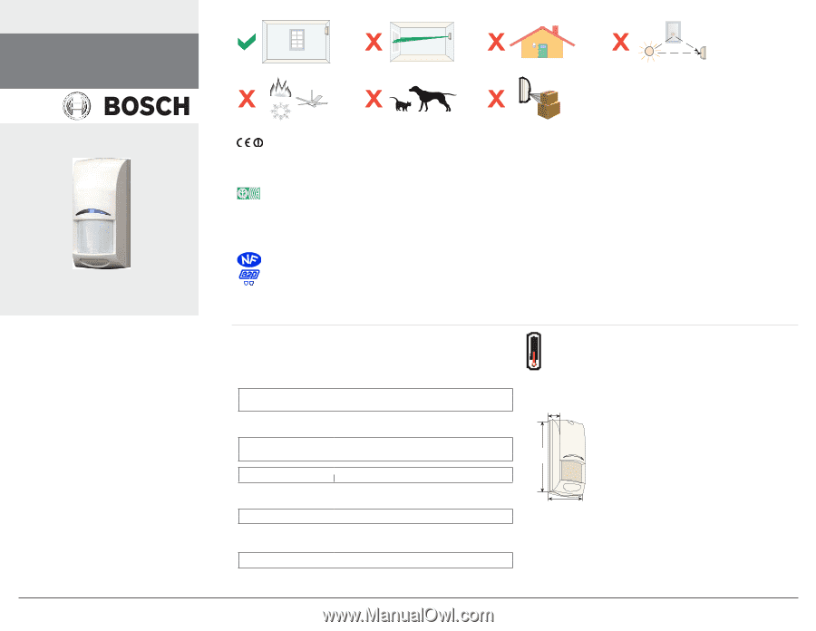 bosch ism blq1 installation instructions page 1. Black Bedroom Furniture Sets. Home Design Ideas