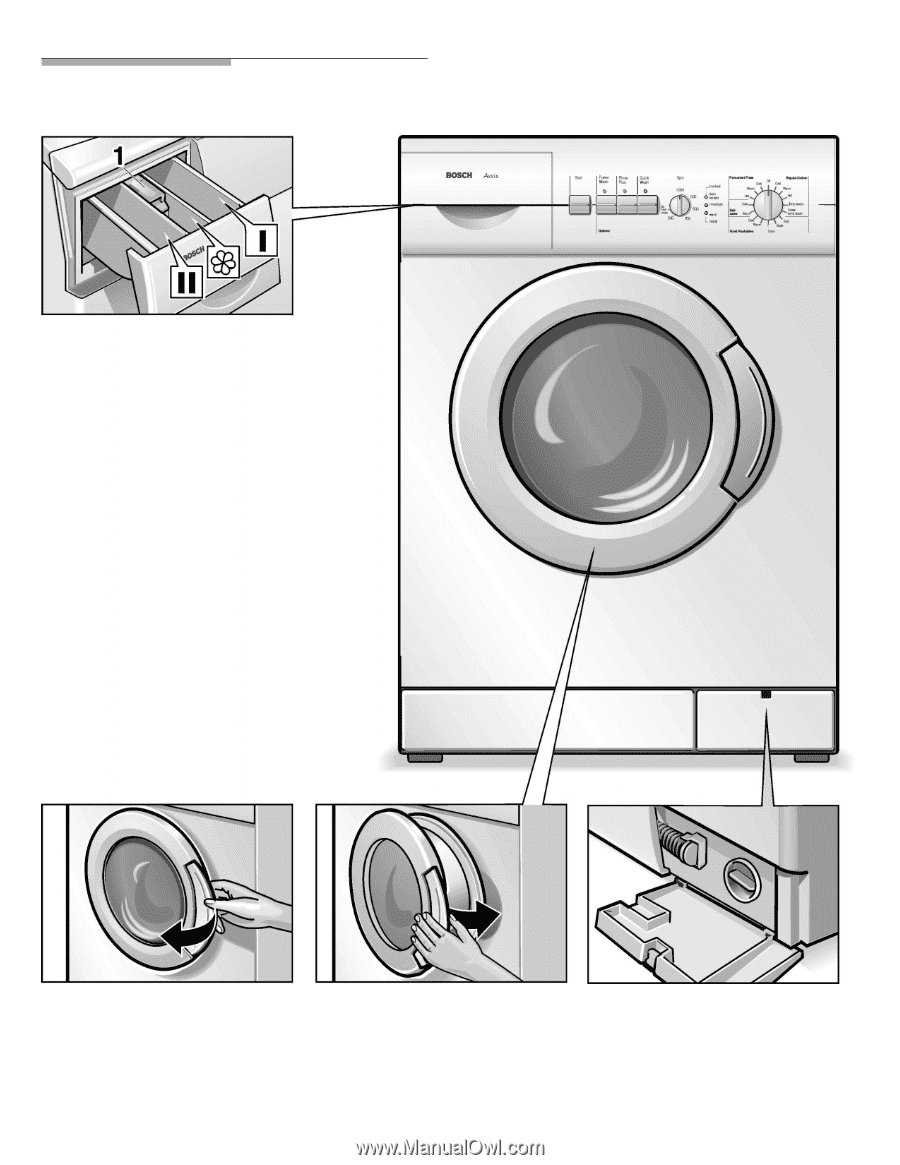 bosch wfl2090uc use care manual rh manualowl com Bosch Nexxt Washer Manual Bosch Axxis Washer Manual PDF
