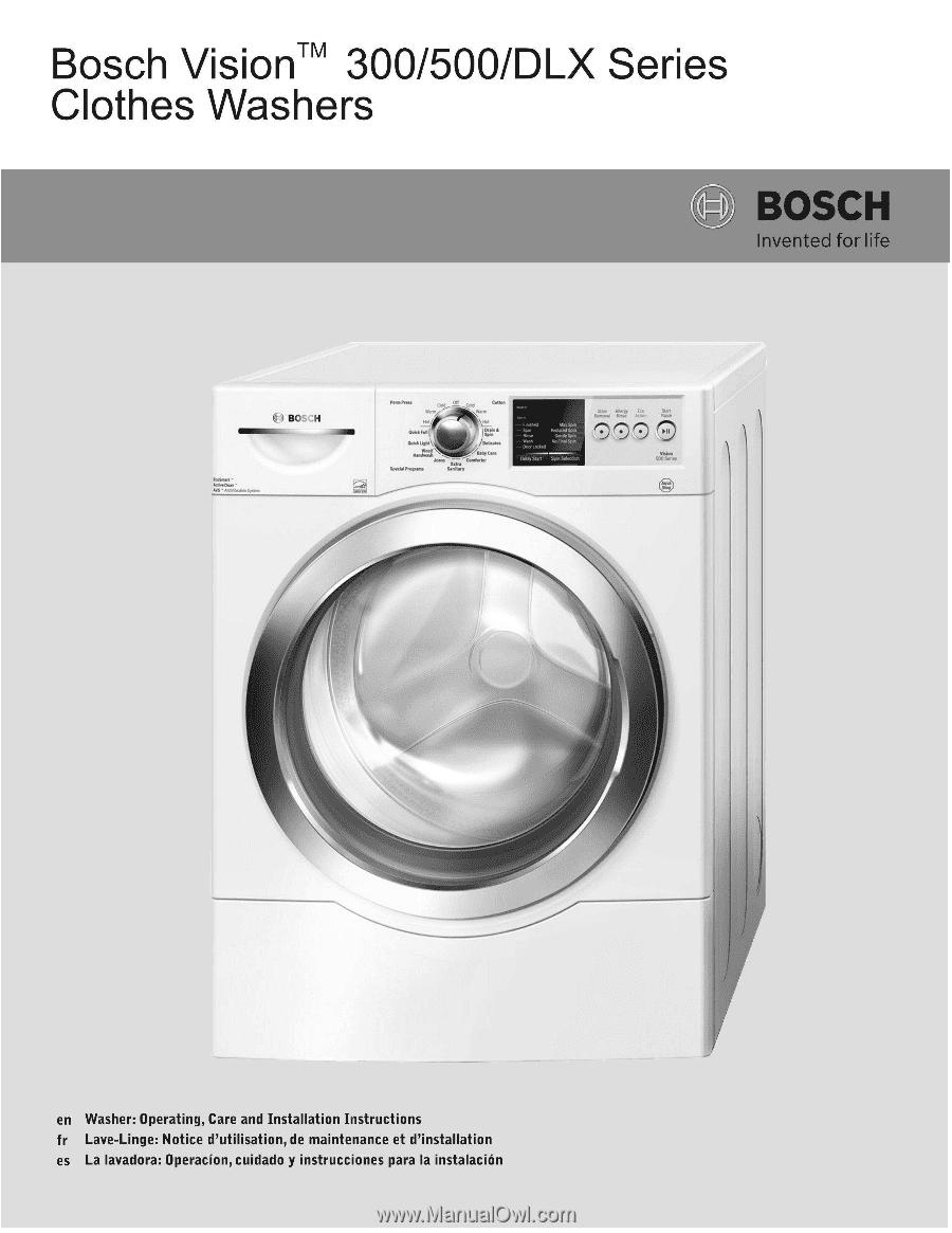 bosch aqt 37 13 user manual