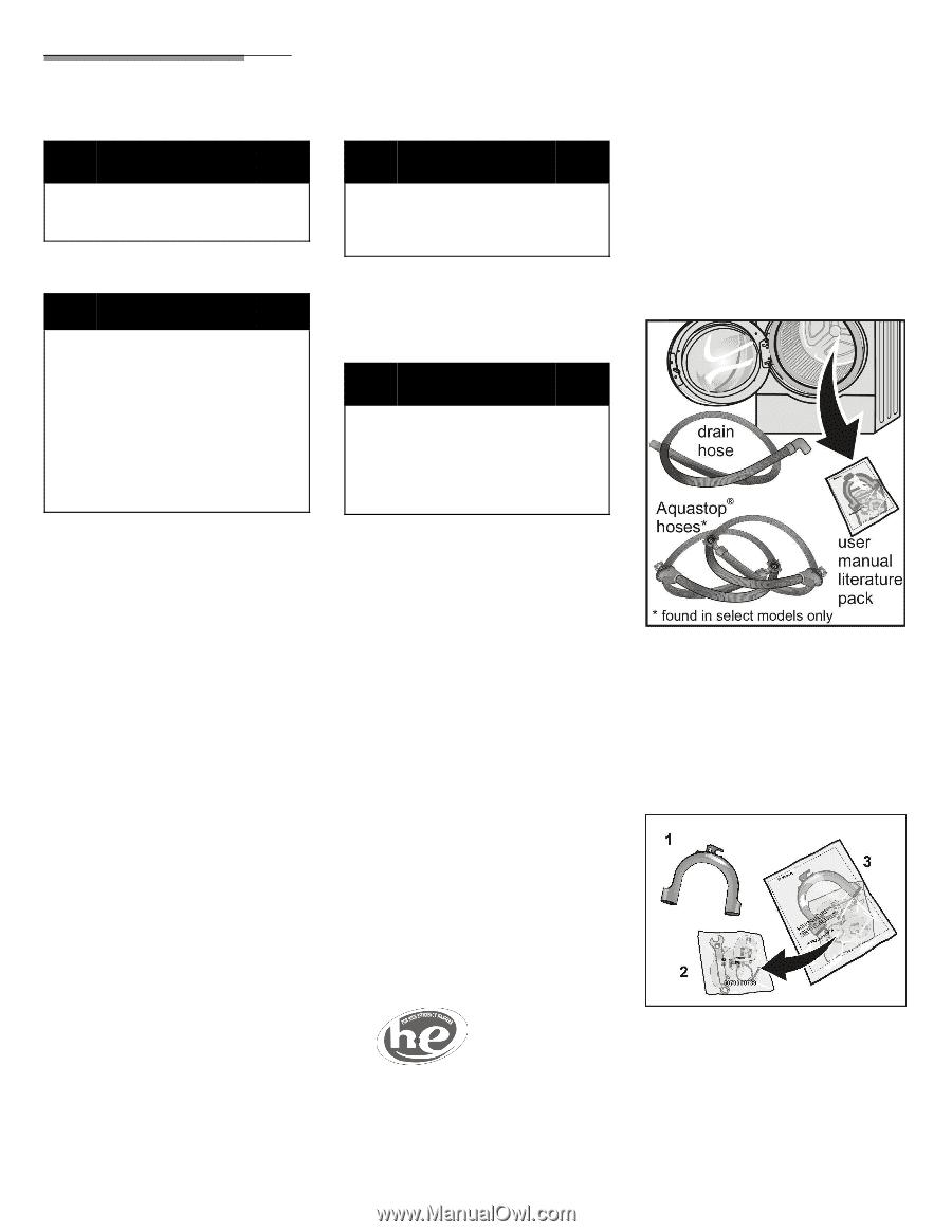 bosch washing machine installation instructions